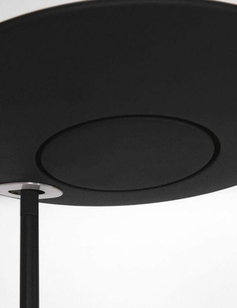 zwarte vloerlamp