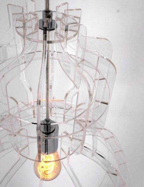 Lamp transparant