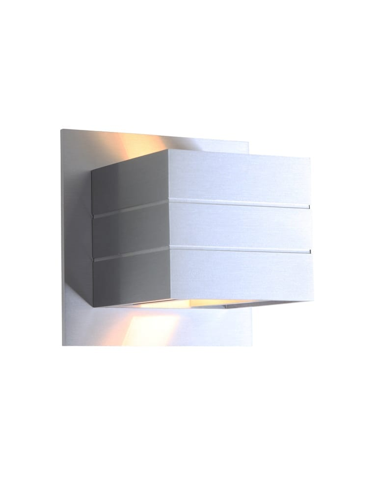 Design wandlamp steinhauer wadjet staal eco halogeen for Design wandlamp