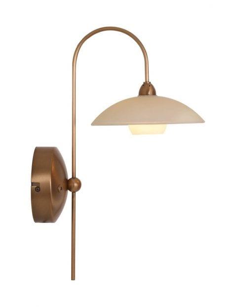 Klassieke wandlamp Steinhauer Monarch LED brons
