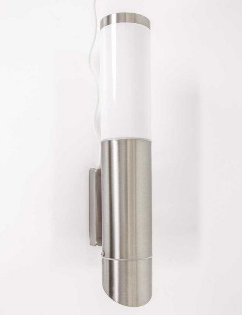 wandlamp buiten staal