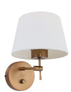brons bedlampje