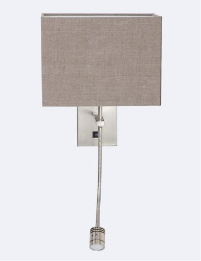 wandlamp met leeslampje modern