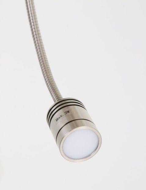 leeslampje wandlamp beige