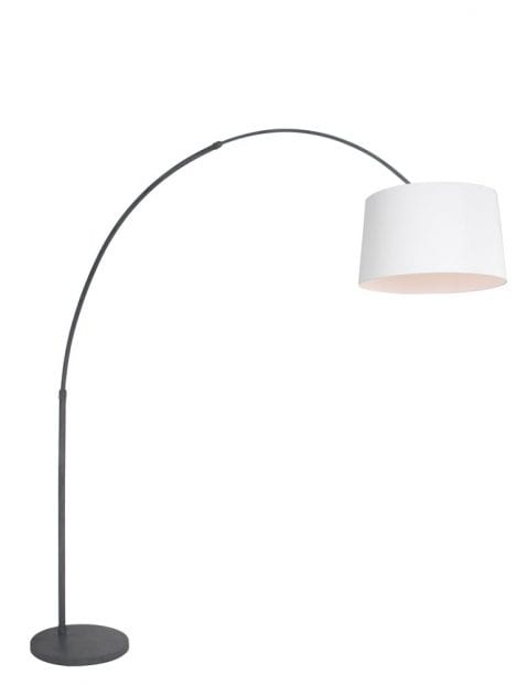 Witte booglamp modern