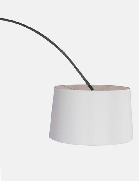Moderne witte booglamp