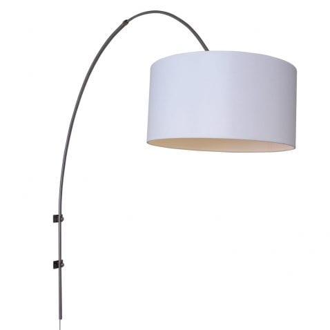 Moderne-wandbooglamp-wit