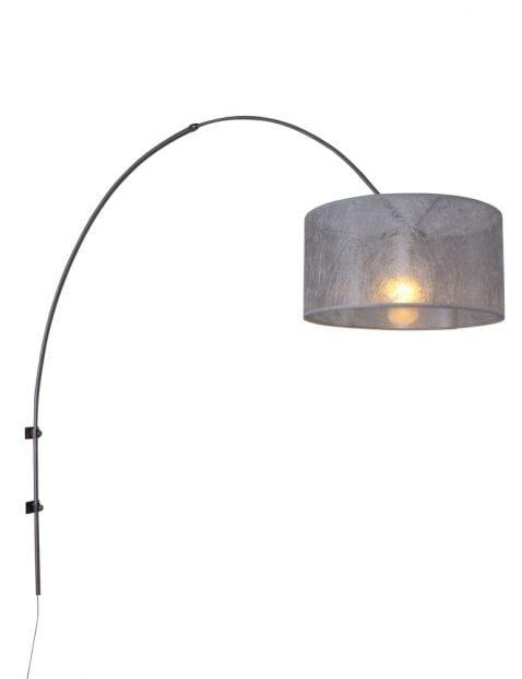 Boog wandlamp