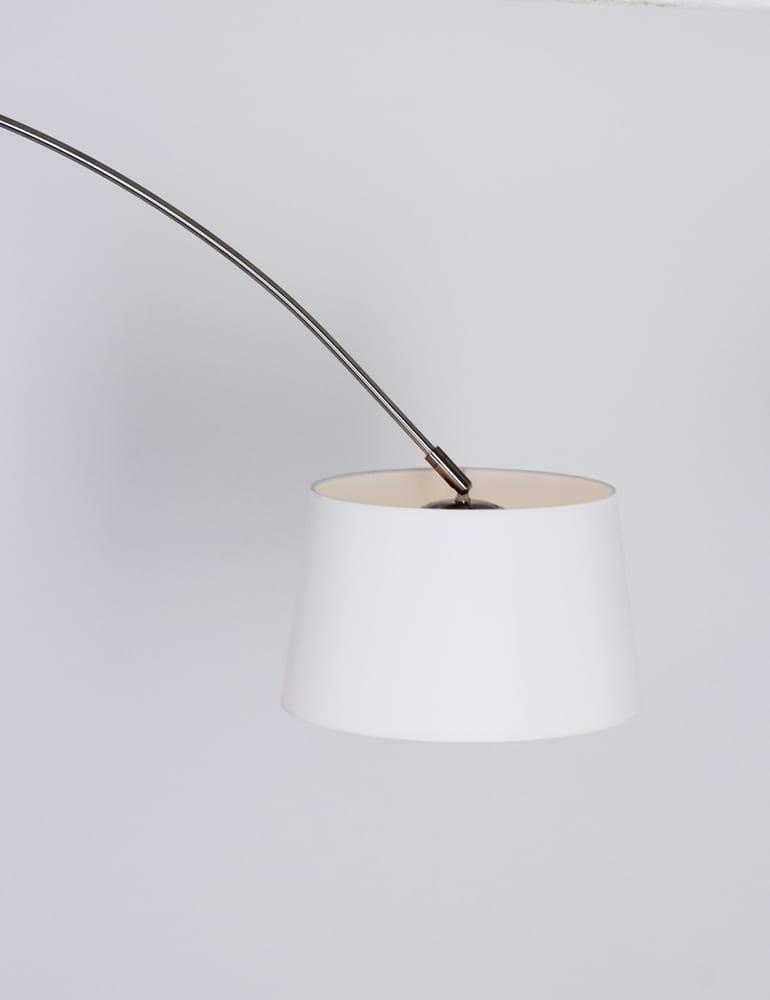 Verrassend Moderne boog wandlamp Steinhauer Gramineus staal/wit - Directlampen.nl WH-22