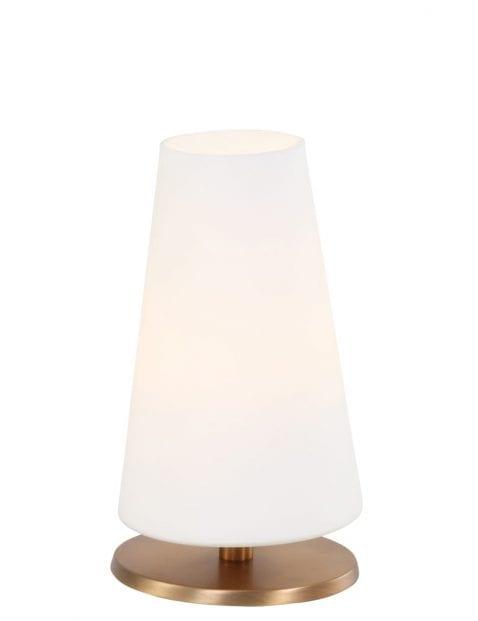 Bronskleurig tafellampje