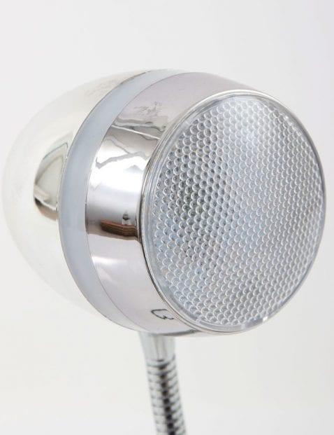 Bureaulamp chroom modern