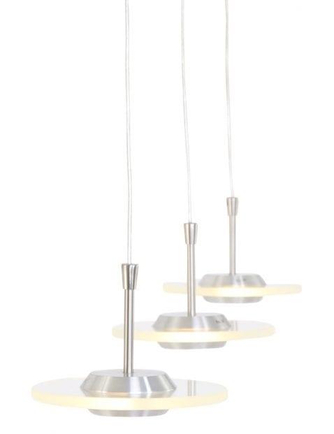 Drielichts hanglamp modern