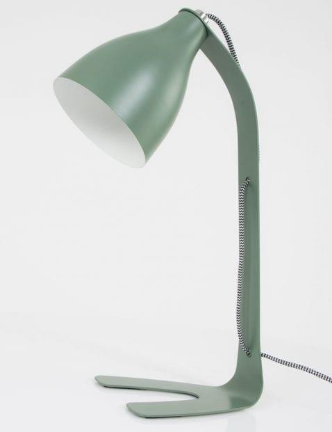 Groene-trendy-bureaulamp-Leitmotiv-Barefoot