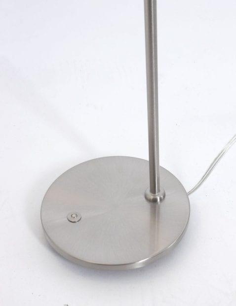 Leeslamp staalkleurig