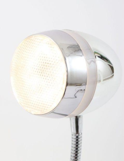 Retro bureaulamp met buigbaar armatuur