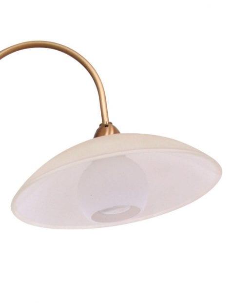 Tafellamp 2 kapjes klassiek