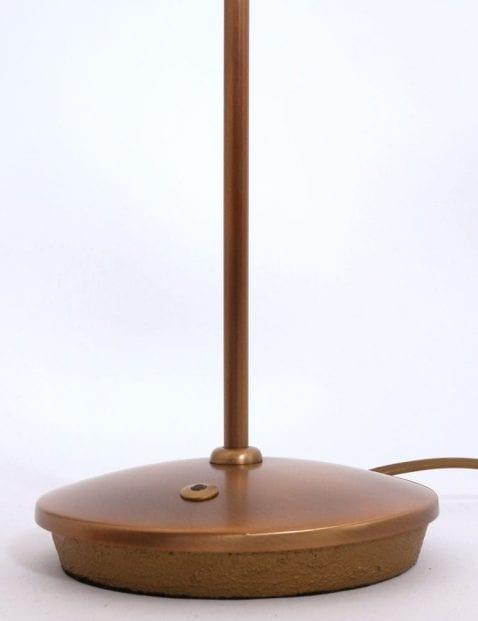 Tafellamp bronskleurig klassiek