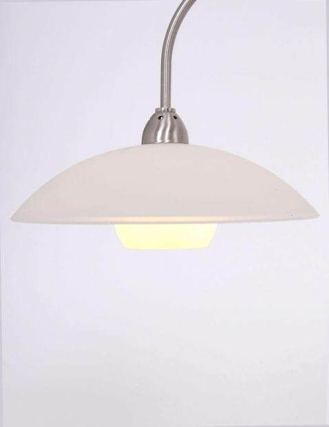 Tafellamp staalkleurig
