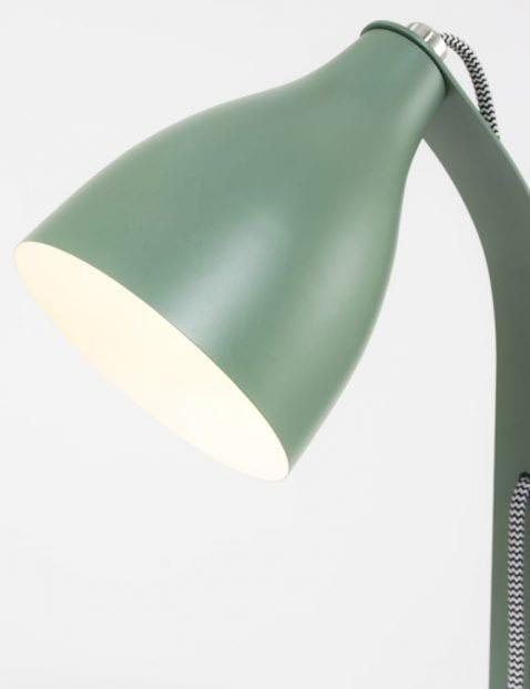 Trendy-groene-bureaulamp-zwart-wit-snoertje