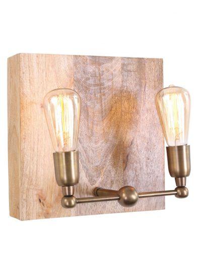 Wandlampje-hout-2lichts-uniek-landelijk