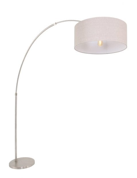booglamp-met-grijze-lampenkap