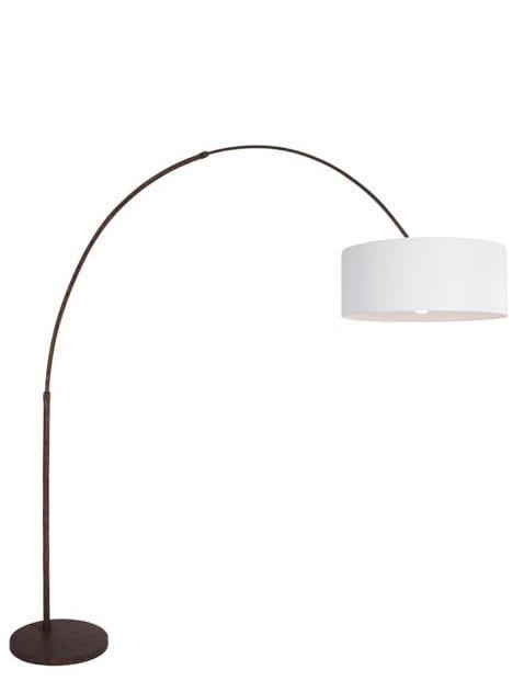 booglamp-met-lampenkap-wit