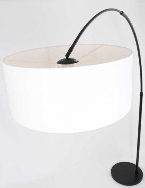 booglamp met witte kap