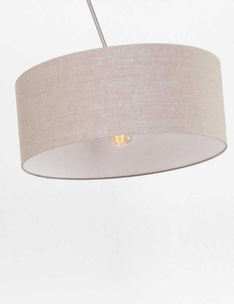 bruine kap stalen booglamp