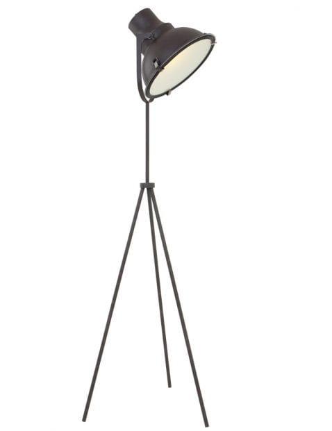 bruine vloerlamp