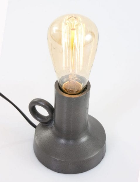 gloeilamp tafellamp sfeervol