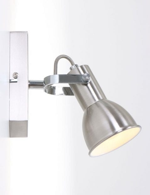 moderne wandlamp staal