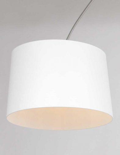 witte kap stalen booglamp