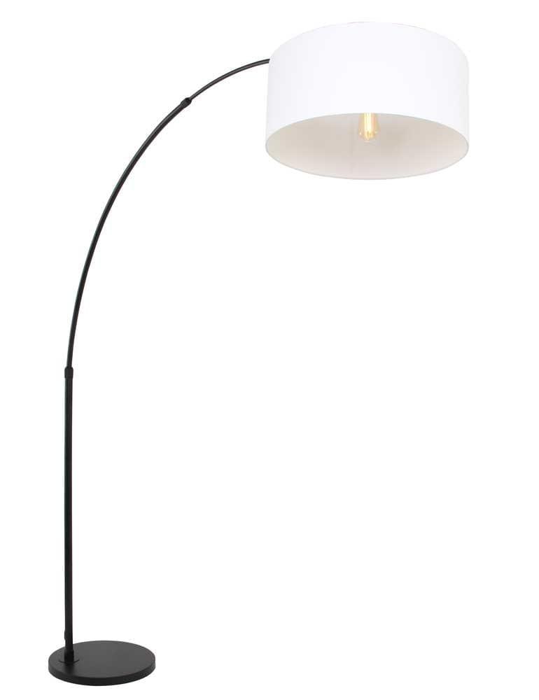 Witte Staande Lamp.Grote Staande Lamp Steinhauer Stresa Zwart Wit