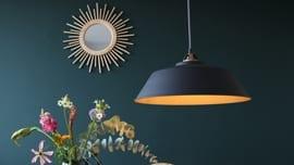 Hanglamp-goud-en-zwart
