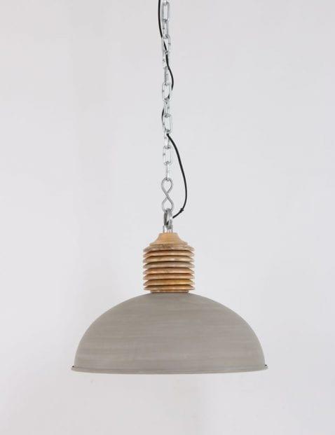 Bruingekleurde hanglamp
