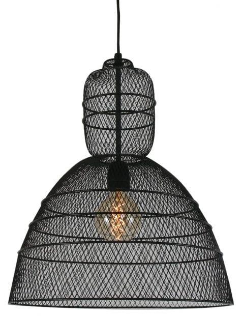 zwarte draadlamp