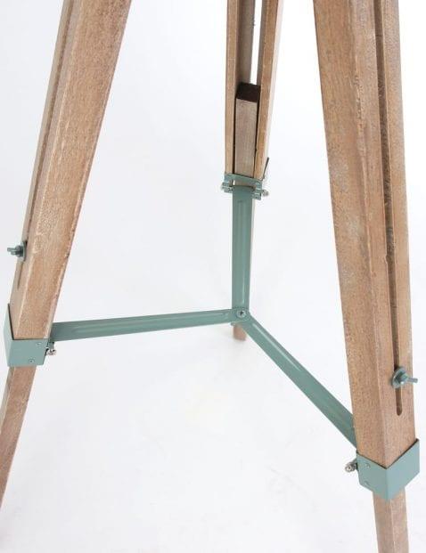 Industriele houten lampen