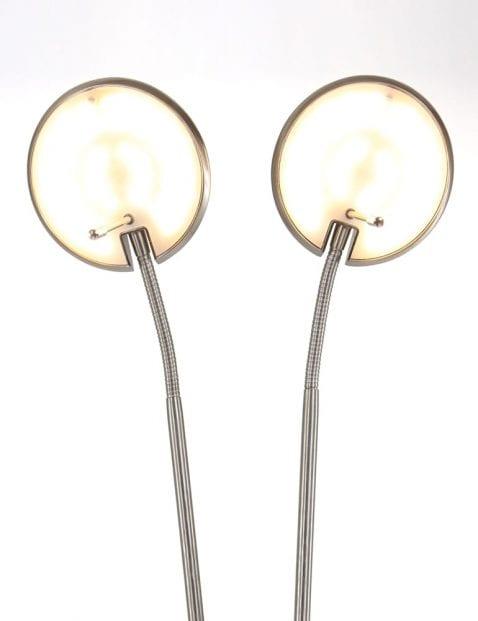 Stalen leeslamp