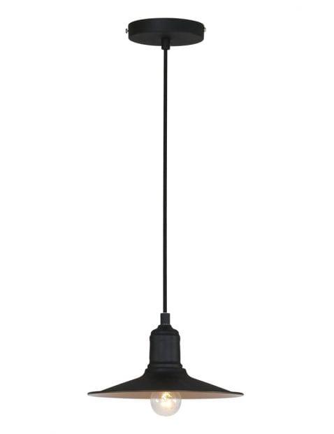 Hanglamp zwarte kap