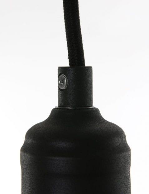 zwarte moderne hanglamp