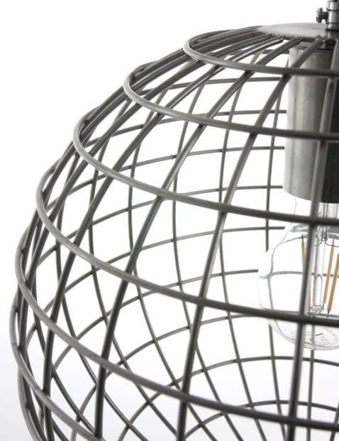 Draadlamp staal Expo