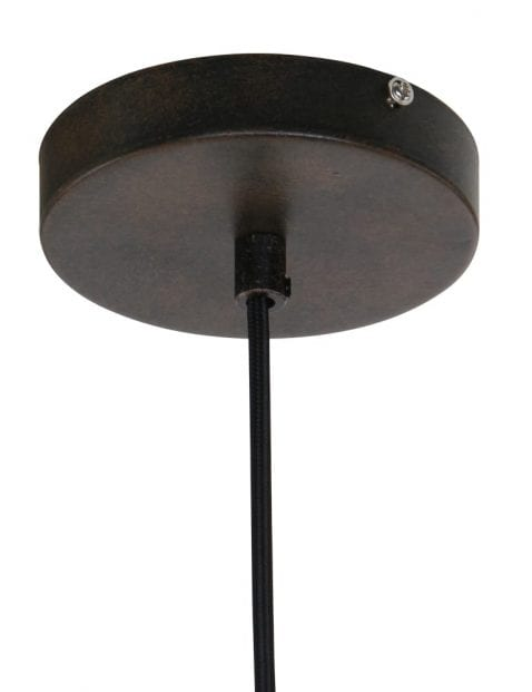 Donkerbruine lamp