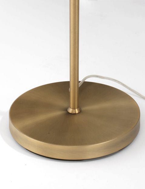 Bronzen leeslamp Trio