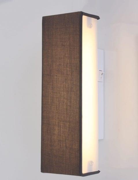 Moderne wandlamp grijs
