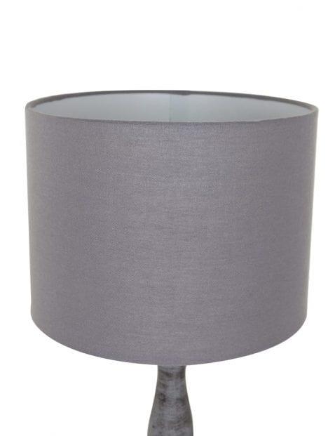 tafellamp hout en stof