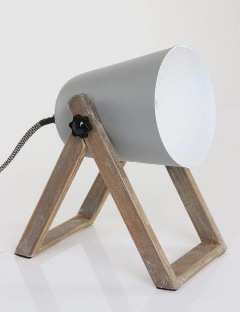 Grijze Scandinavische tafellamp