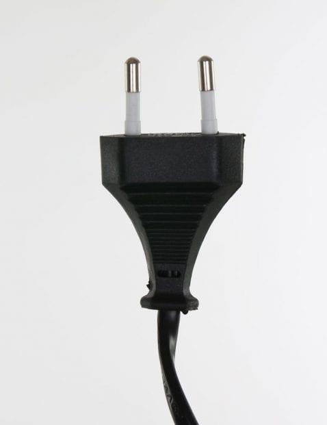 tafellamp zwart stekker