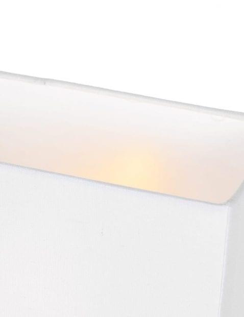 Moderne tafellamp met hout