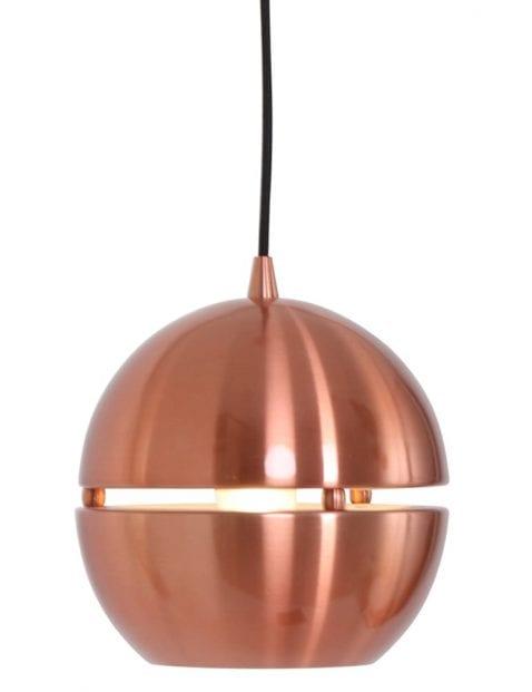 Kleine koperen bollamp hanglamp Steinhauer Solar