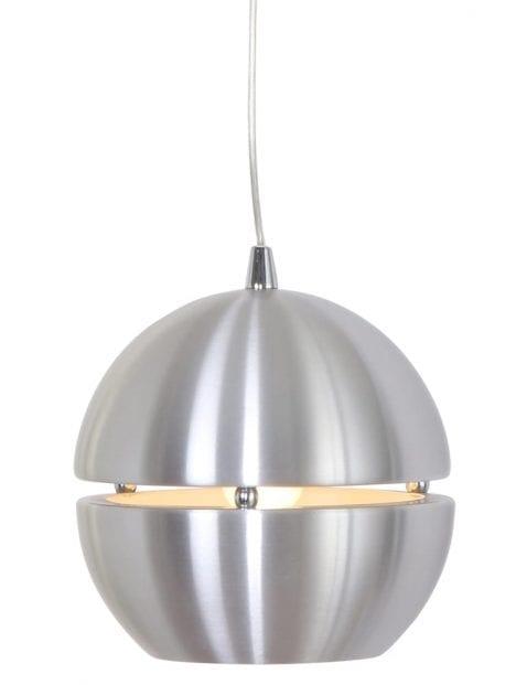 Kleine stalen bollamp Steinhauer Solar
